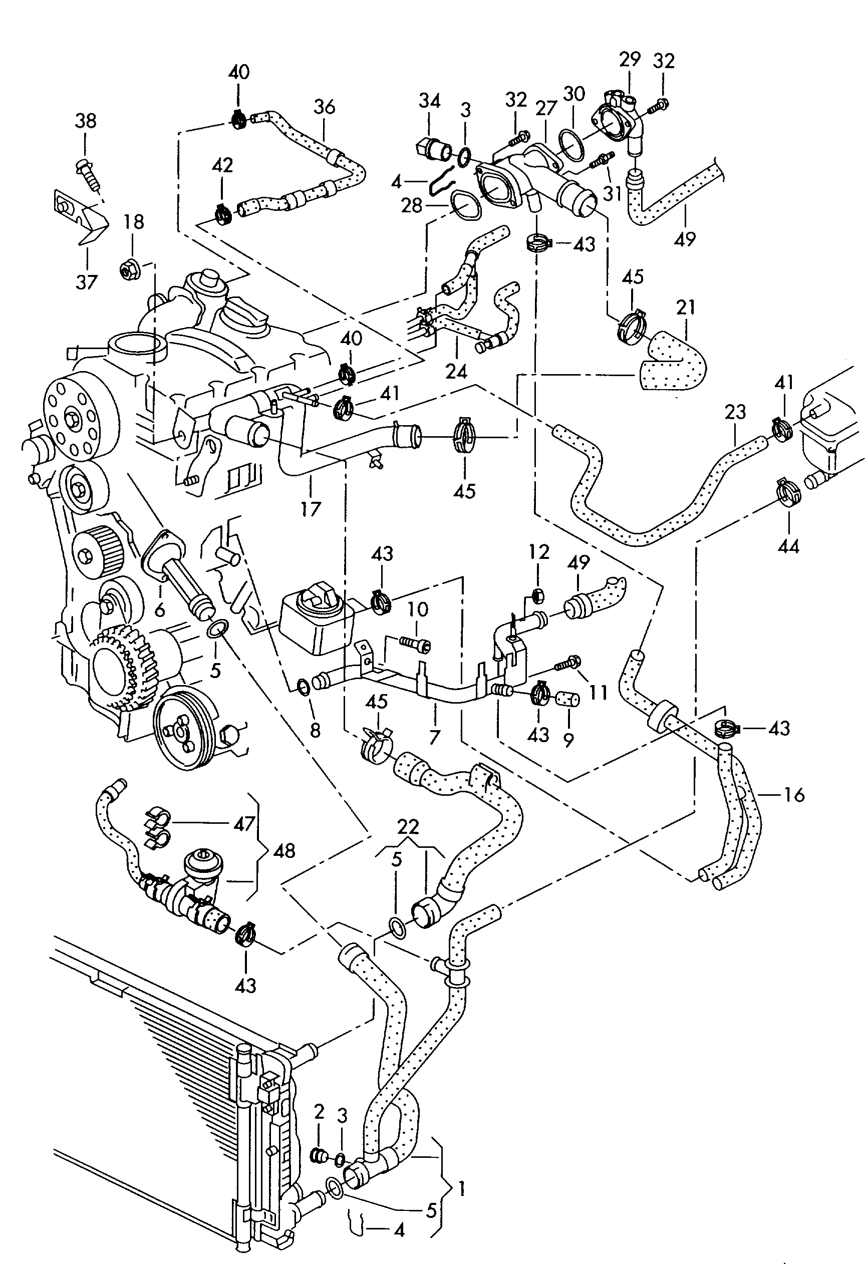Audi Tt Engine Cooling Diagram