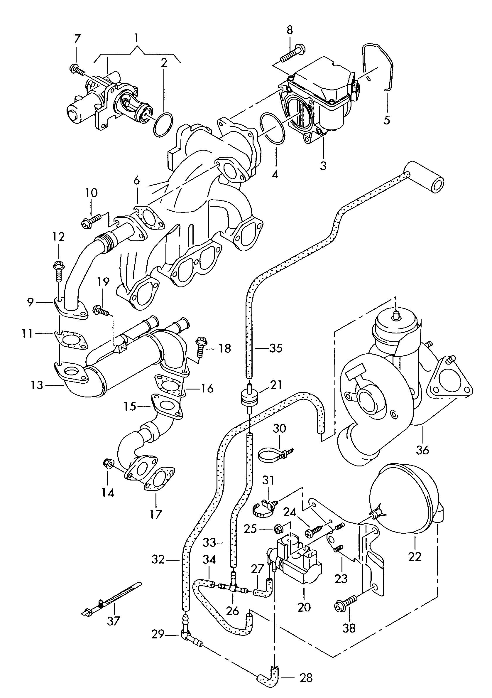 Audi A4 Engine Diagram