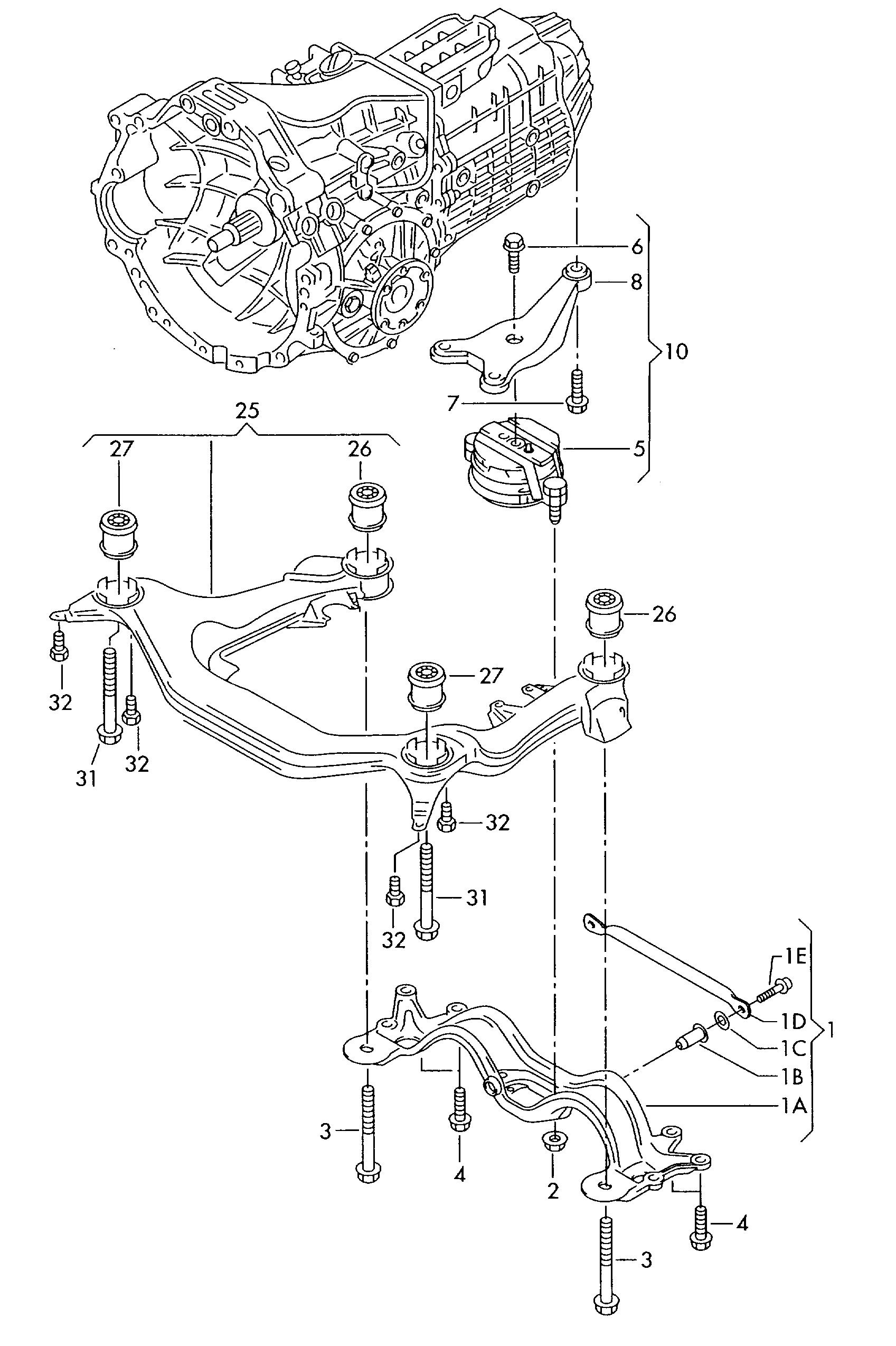 Audi A4 Engine Parts Diagram