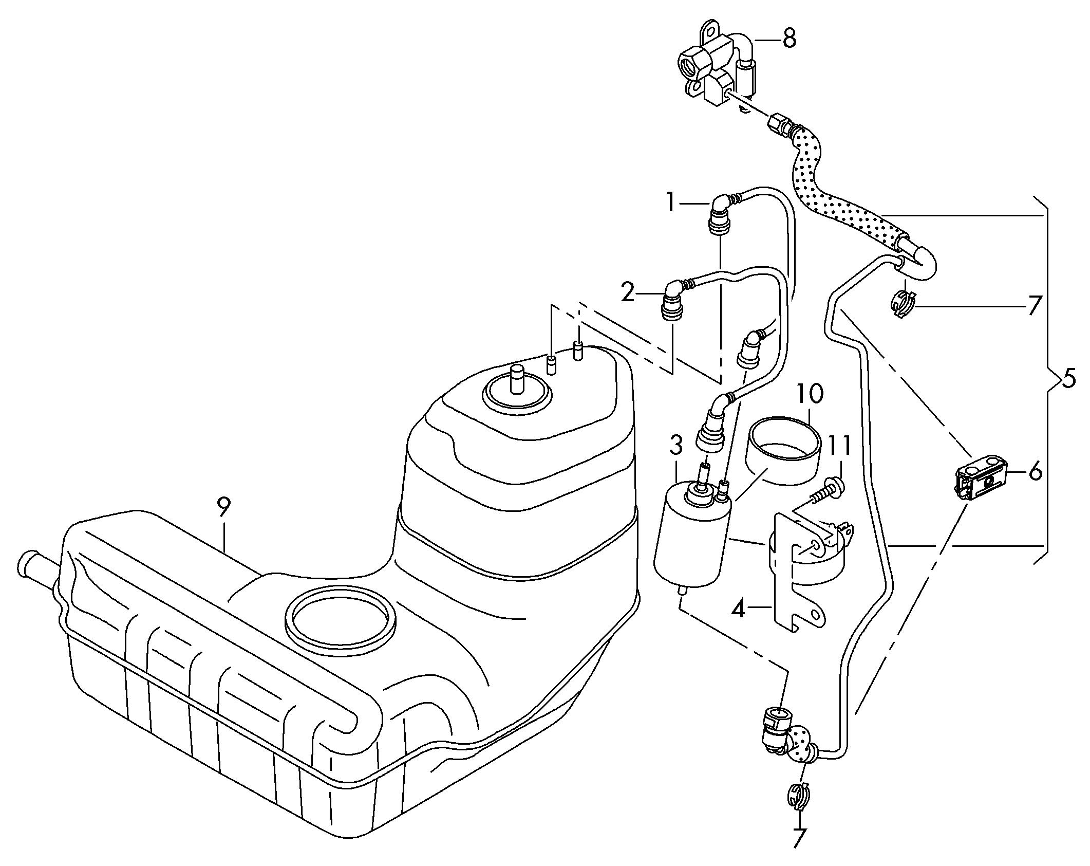V10 Fuel Filter Location