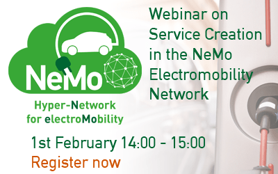 Watch it again: NeMo Webinar on Service Creation in Electromobility Networks