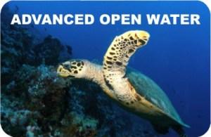 Certyfikat Advanced Open Water Diver