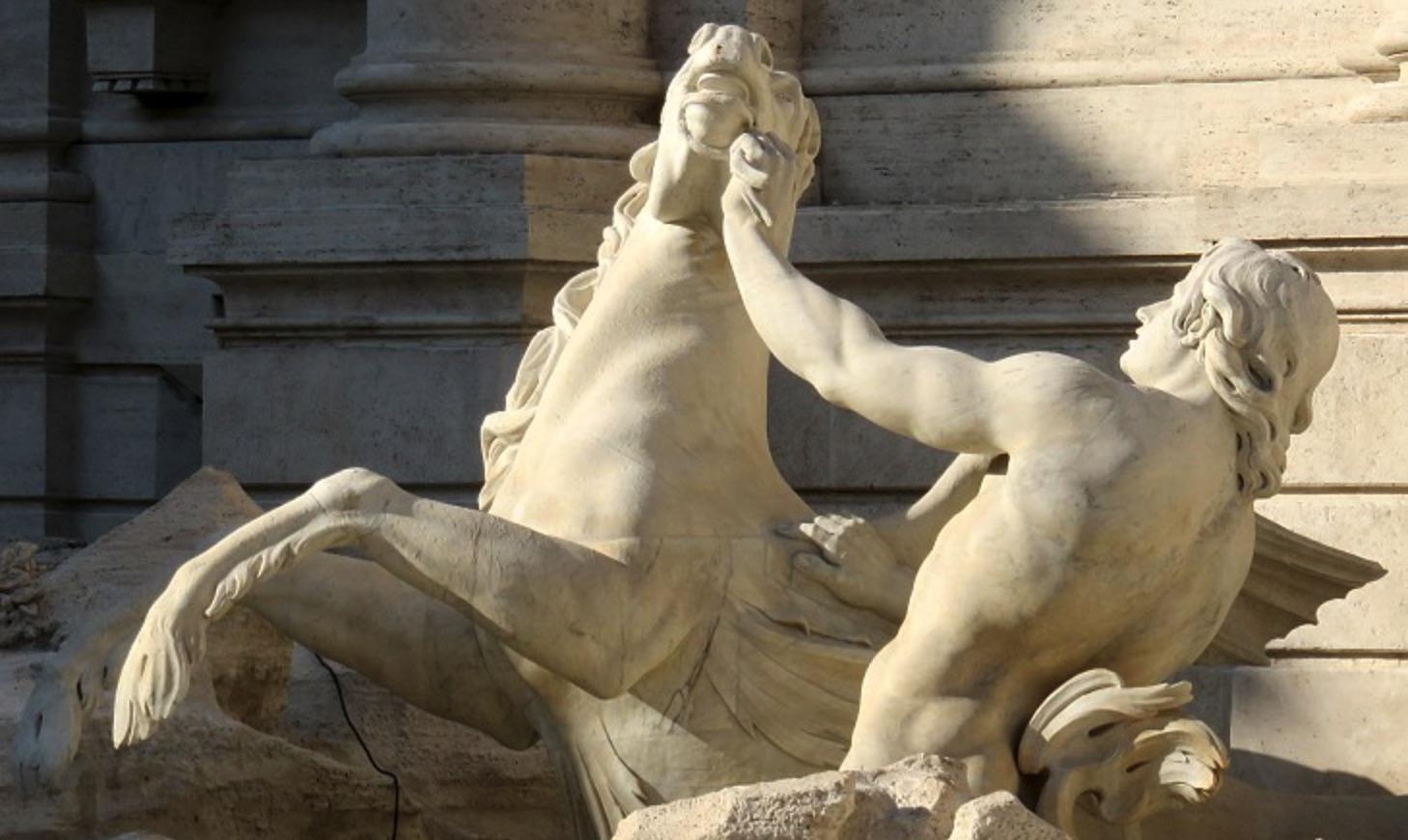 Triton, Trevi Fountain