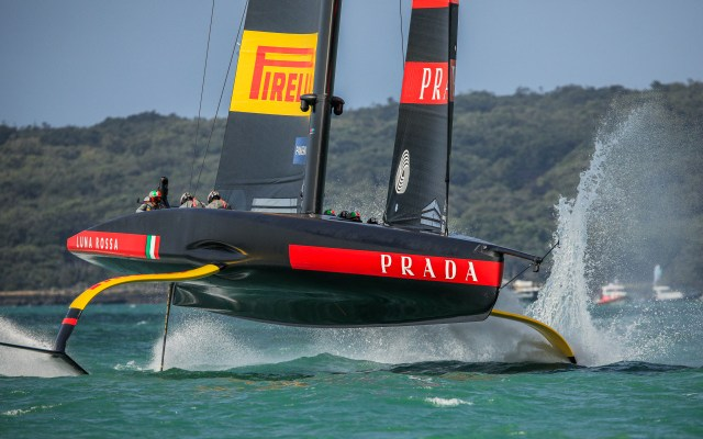 LUNA ROSSA MAKES THE FINALS OF THE PRADA CUP IN AUCKLAND