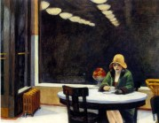 | Automat, 1927, by Edward Hopper |