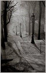| Les escaliers de Montmartre, 1930 |
