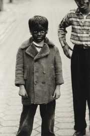 | Kid in Black-Face with Friend, N.Y.C |