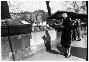 | Elizabeth Reading At Outdoor Book Stall, c. 1930 |