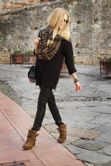 black and brown outfit 5