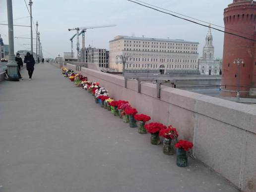 07.04.2016. Раннее утро на Немцовом Мосту (Большой Москворецкий).