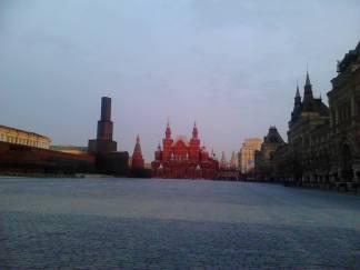 07.04.2016. Раннее утро на Красной площади