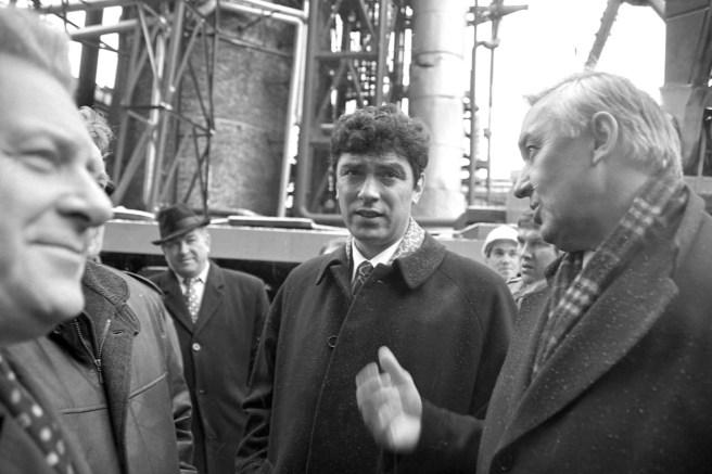 Анатолий Лисицын, Борис Немцов, Евгений Заяшников. / Фото Сергея Белякова