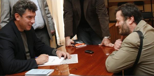 2008 год. Борис Немцов. Воронеж.