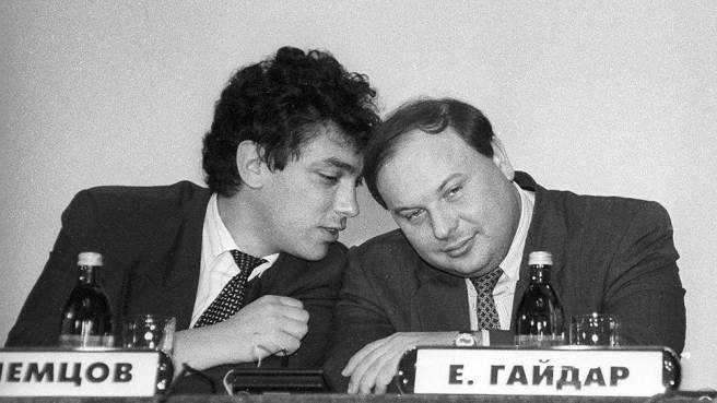 Егор Гайдар был для Бориса Немцова по-настоящему близким человеком.