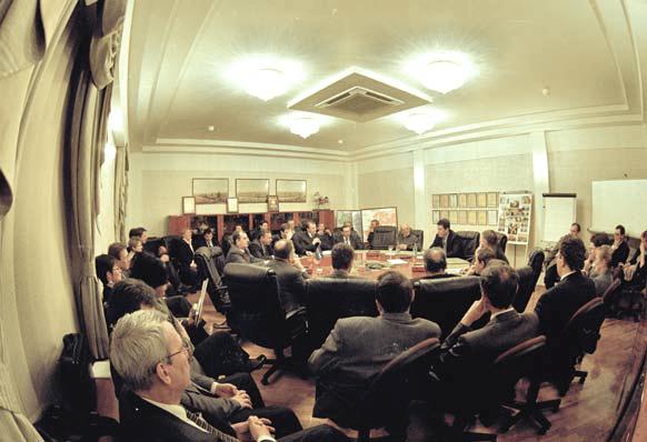 Зал совещаний офиса Билайн.