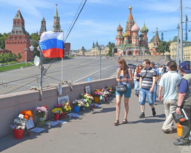 Место убийства Бориса Немцова сегодня — Max Katz