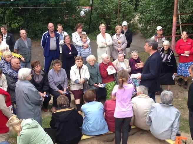 Встреча с ветеранами в Красноперекопском районе Ярославля. Встретил нижегородцев, переехавших в Ярославль. Приятно