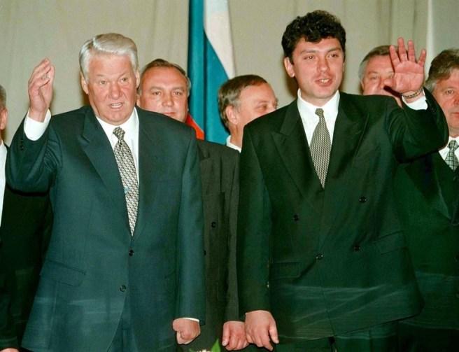 Ельцину очень импонировал этот яркий парень. Но отдал он страну серому