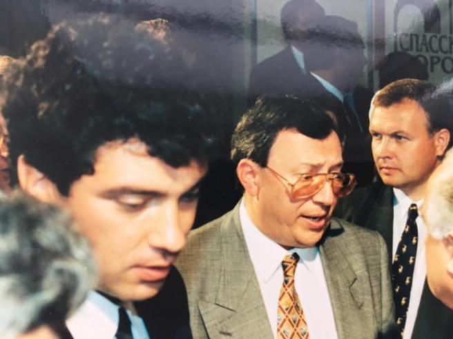 Немцов и Гусинский