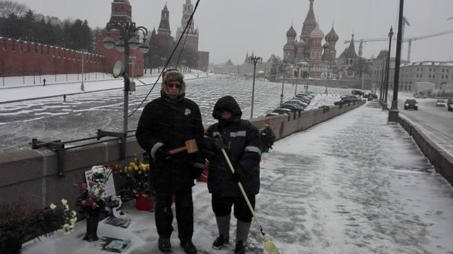 Борис Федорович Казадаев и Марина Николаевна Лебедева.