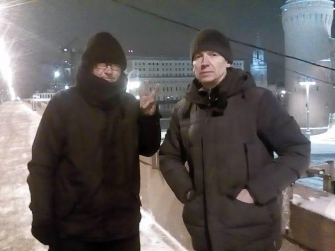 08.12.2016. Ночные: Илья Повышев и Александр Казаков