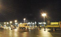 Немцов мост. Ночная смена. 12 октября 2017. Фотографии — Ольга