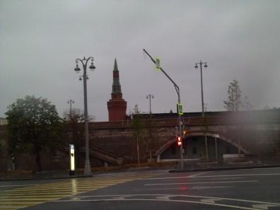 21.07.2018 Дежурство на Мосту Немцова. Другая сторона моста