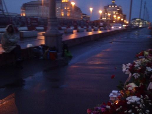 11.05.2019 Ночное дежурство на Мемориале Немцова