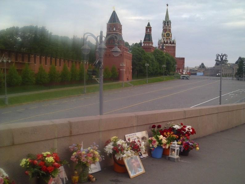 11.05.2019 Ночное дежурство на Мемориале Немцова Мемориал
