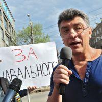 Немцов о приговоре Навальному: «Судилище произошло»