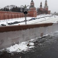 SERB «случайно» на мосту Немцова