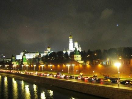 27.10.2016. Немцов мост. Вид на Кремль