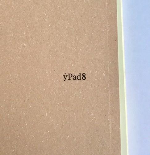 ypad8中表紙