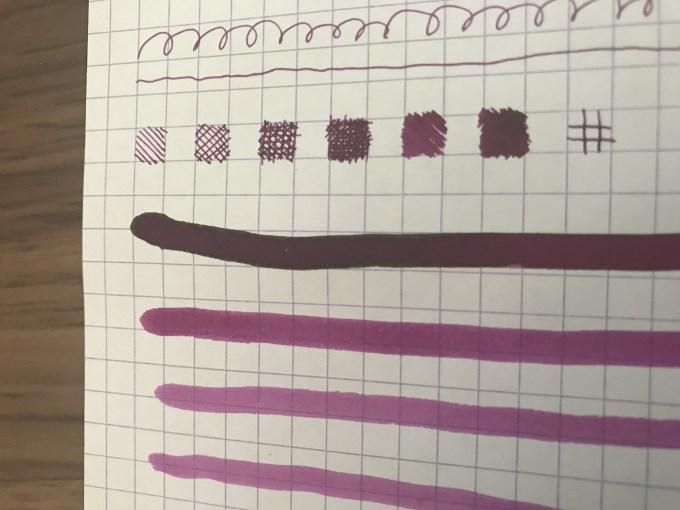 色彩雫の山葡萄のレッドフラッシュ