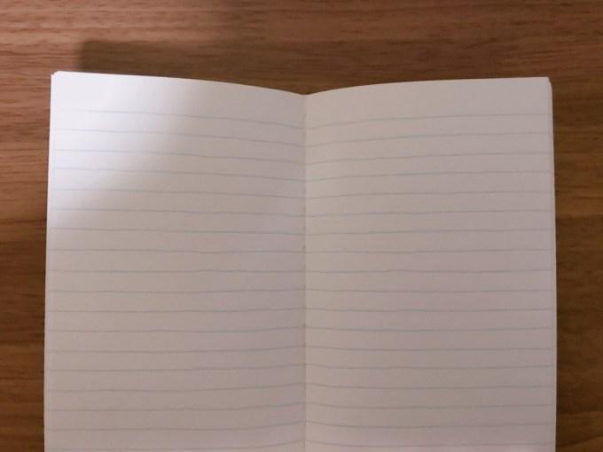 ダイソーのノート