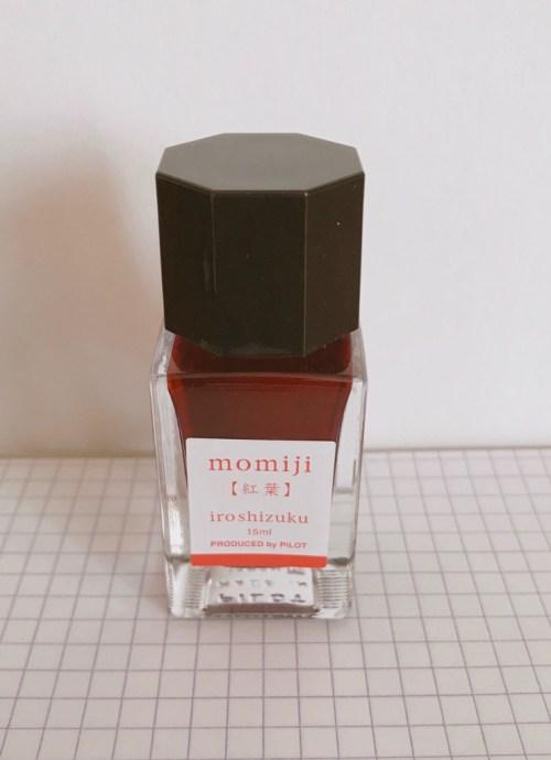 色彩雫の紅葉のミニボトル