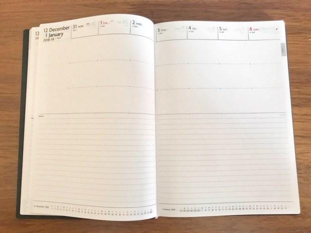 EDiTの週間ノート2019年版