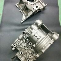 NSR250 クランクケース エイジングブラスト