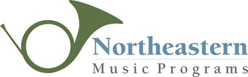 Northeastern Music Programs logo.