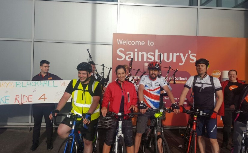 Sainsburys cyclists go the extra mile for chosen charity – The NEN ... 0b3aebff3