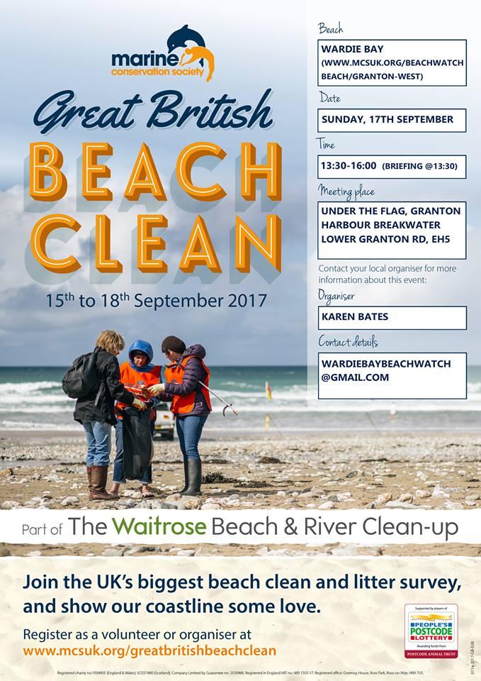 09 SEP Great British Beach Clean
