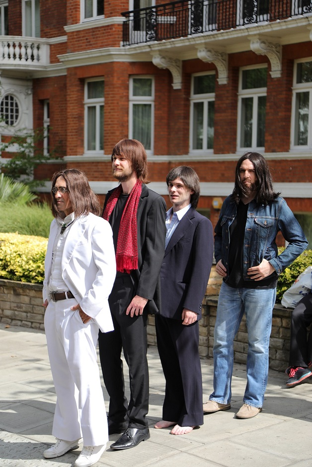 Let It Be Cast Recreate Iconic Image On Abbey Road The Nen North Edinburgh News