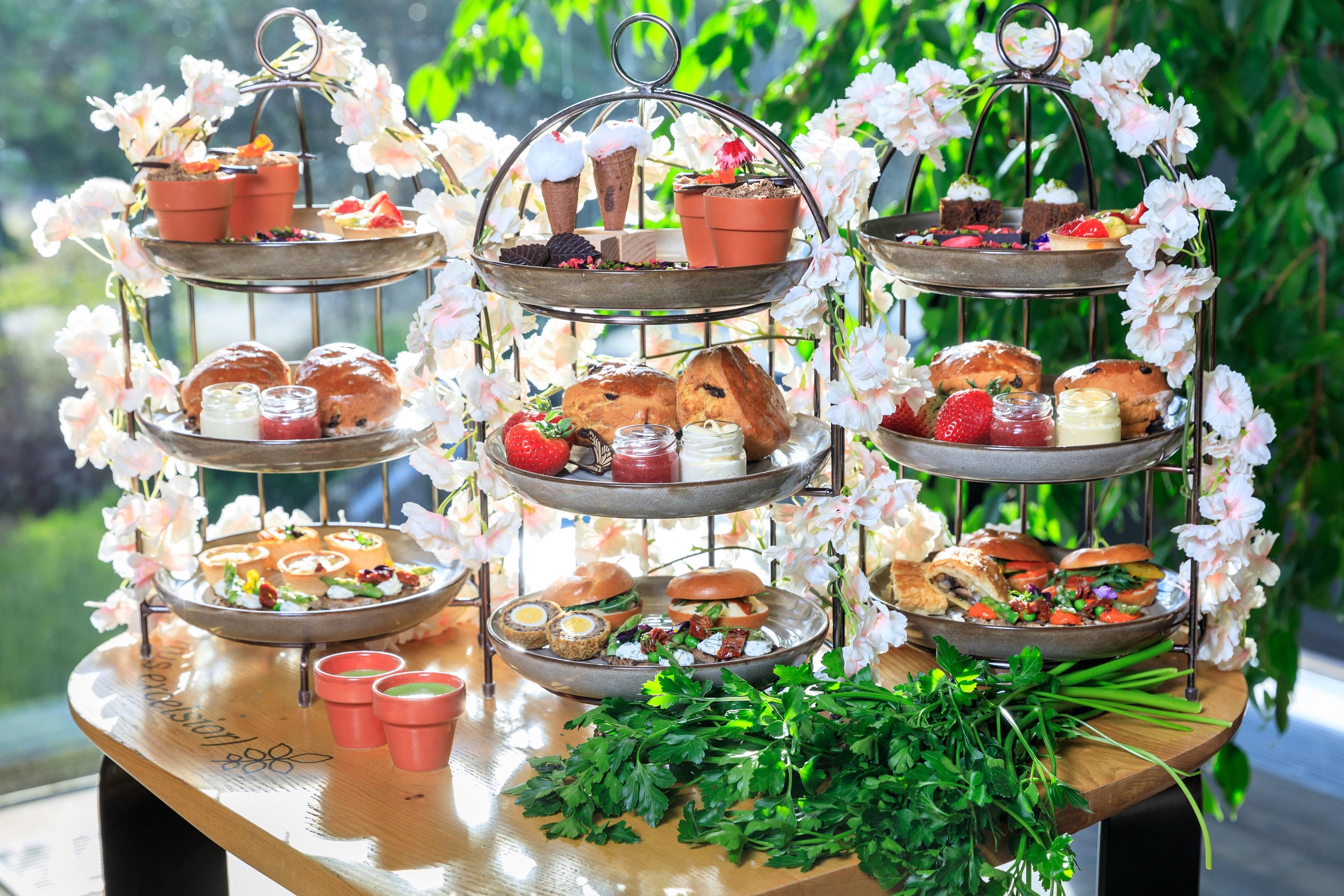 botanics tea 4 - The Botanical Kew Gardens Afternoon Tea Menu
