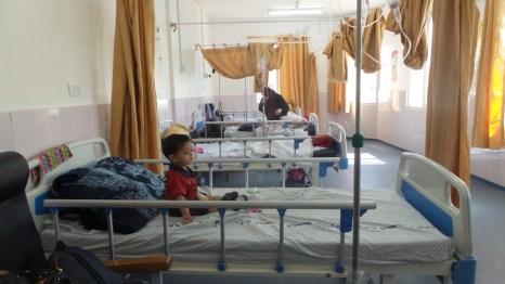Paediatric department in al-Najja