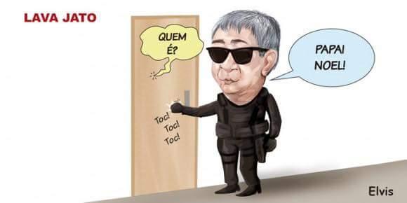 O cordão humano para proteger Lula