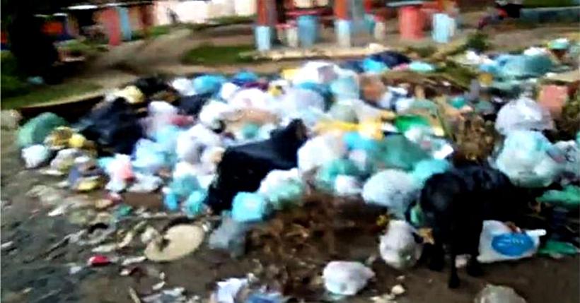 Cidade lixo: Prefeito de Paulista não recolhe o lixo da cidade