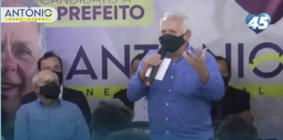 CONVENÇÃO DE ANTONIO NENA CABRAL A PREFEITO DO PAULISTA