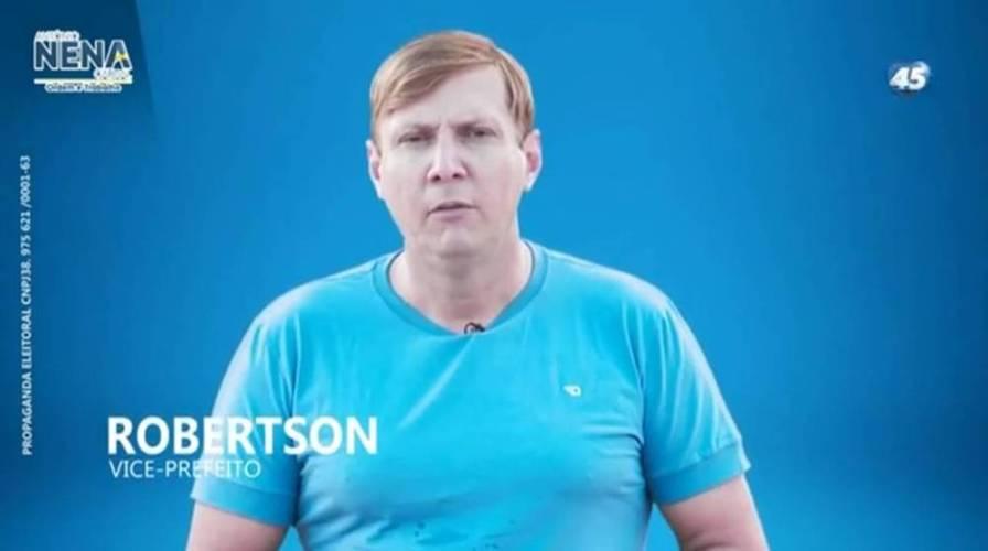 ELEIÇÃO 2020: MORADIA CORRETA PELO VICE ROBERTSON