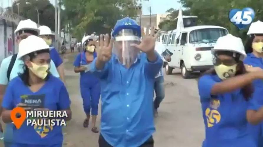 ELEIÇÃO 2020: CAMINHADA EM MIRUEIRA