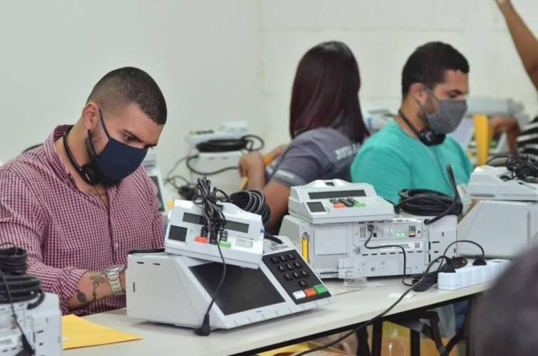 TRE inicia processo de preparação das urnas eletrônicas para as eleições 2020